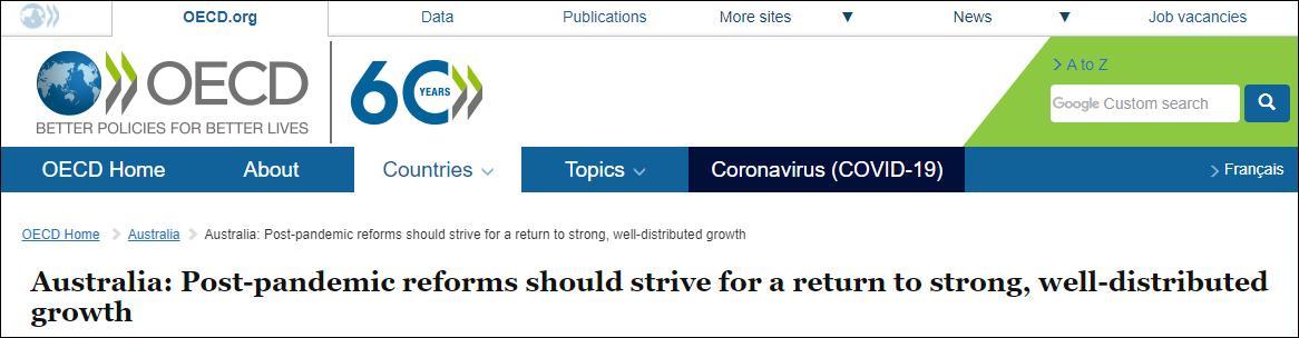 经合组织告诫澳大利亚:继续和中国交恶,小心经济恢复不过来
