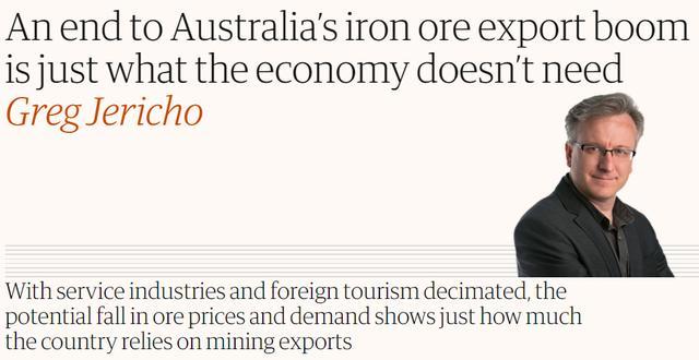 """铁矿石跌破100美元,澳大利亚""""武器""""反成中国""""棋子""""?"""