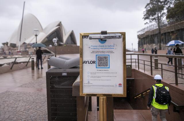 """悉尼进入""""解封""""第一阶段"""