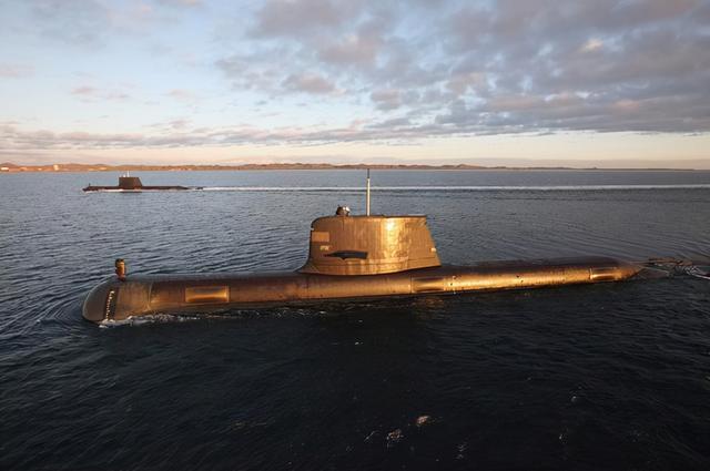 澳大利亚反华孤注一掷,美国出售禁忌核潜艇,不惜撕毁660亿大单