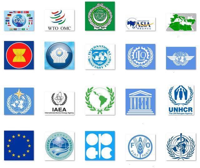 徽章名称:世界各大组织标志,你认
