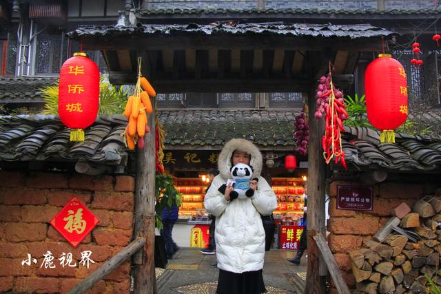 微雨中游览黄龙溪古镇:望浩荡的锦江,品味老街味道