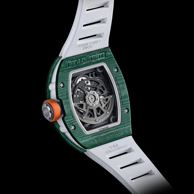 理查德·米勒出新款手表,土豪们准备好了么  第3张