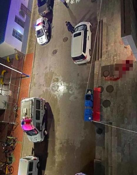 兰州交通大学一研讨生在公寓楼前遇难 有现在击者被血溅了一身