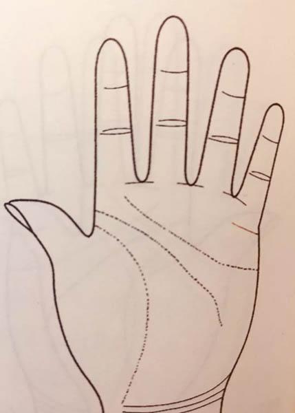 手掌解析运势图婚姻(手掌纹路运势解析)-第3张图片-天下生肖网