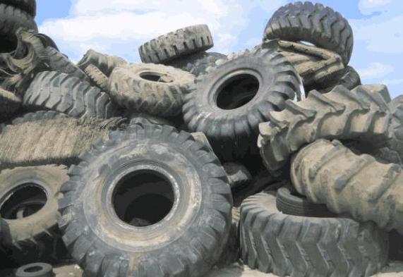 中国废旧轮胎每年2000万吨,黑色浑浊成全球难题,中国如那里理?