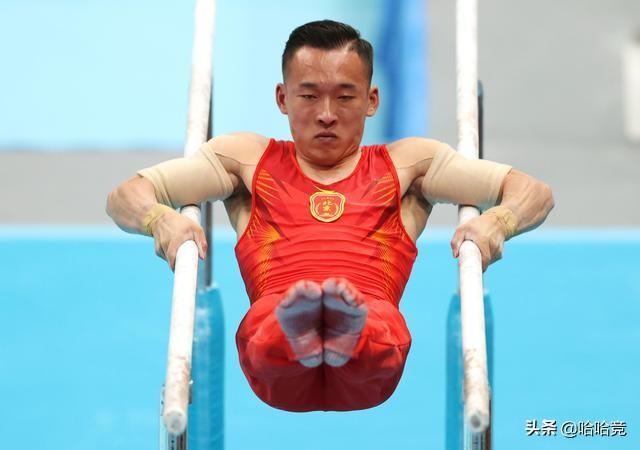 全運會體操男子全能肖若騰微弱優勢摘金,00後新星張博恒獲得銀牌