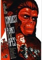 猩球征服海报