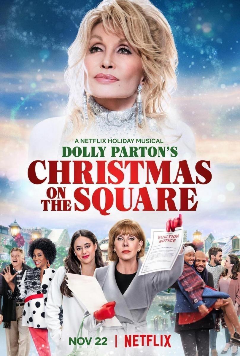 多莉·帕顿:广场上的圣诞节海报