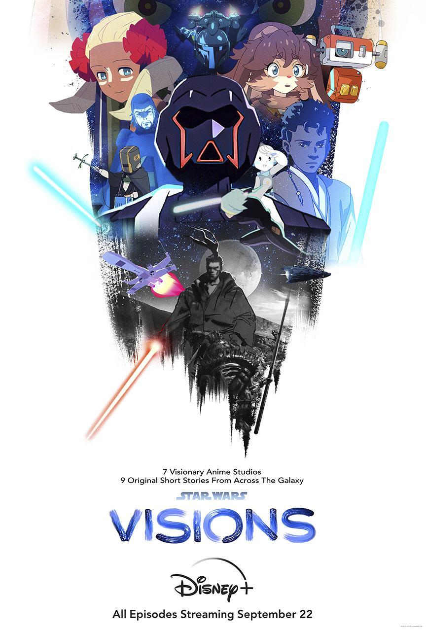 【星球大战:幻境/Star Wars: Visions】[第一季][中英双字]全9集