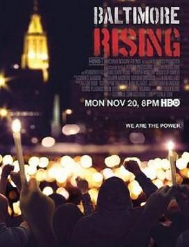 巴尔的摩暴动事件海报