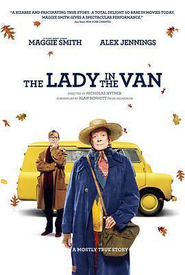 住货车的女士 电影海报
