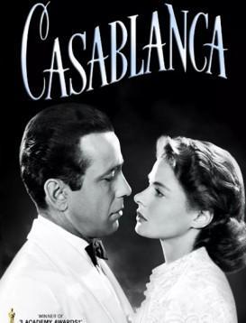卡萨布兰卡 Casablanca  电影海报