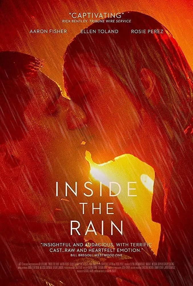 在雨中海报