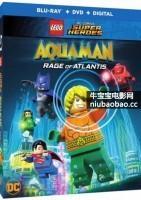 乐高DC超级英雄:亚特兰蒂斯之怒海报