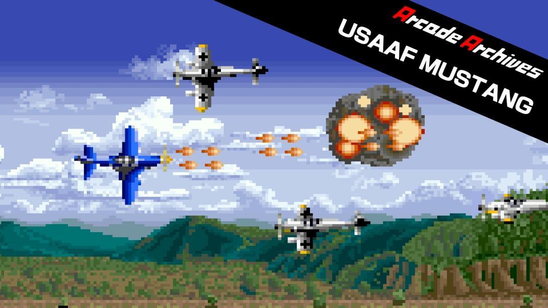 街机博物馆:野马战机(Arcade Archives USAAF MUSTANG)插图6