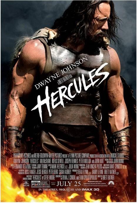 宙斯之子:赫拉克勒斯 电影海报