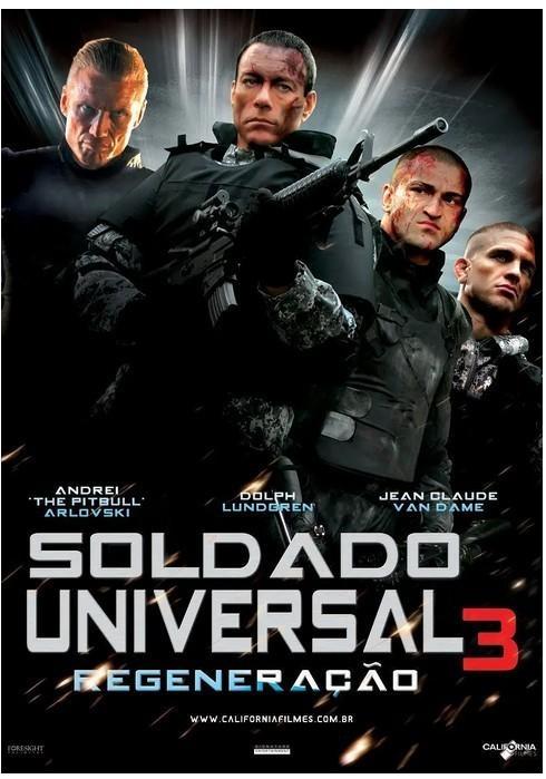 再造战士3:重生海报