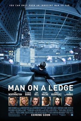 窗台上的男人 电影海报