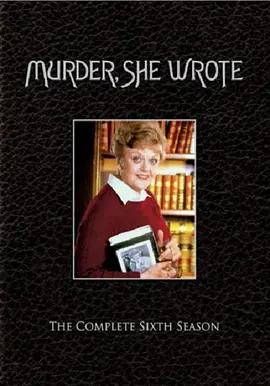 女作家与谋杀案 第六季海报