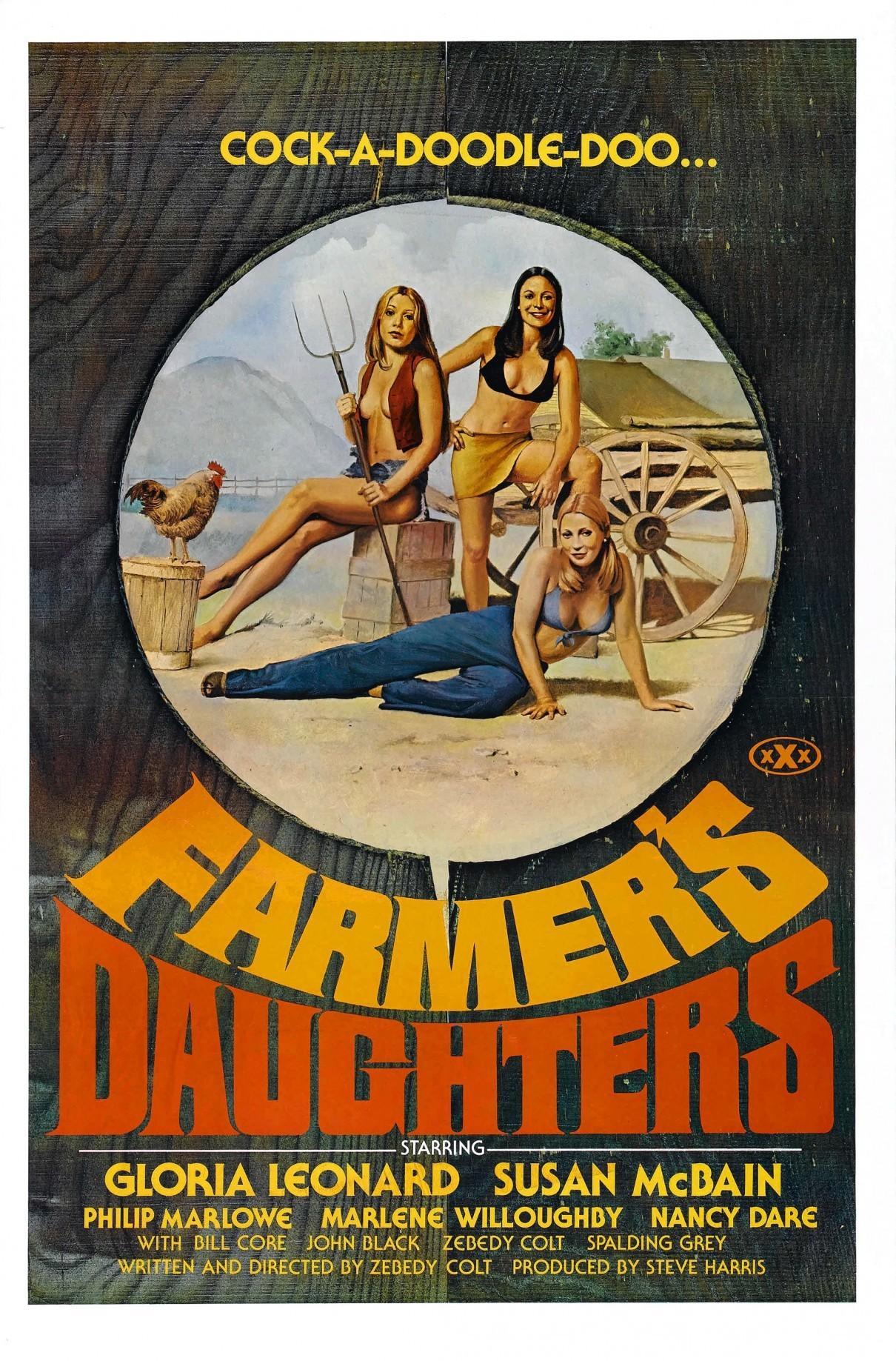 农场主的女儿们海报