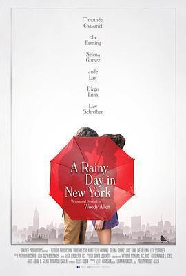 纽约的一个雨天海报