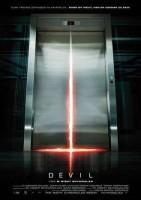 电梯里的恶魔海报