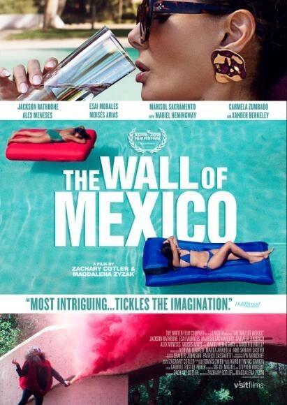 墨西哥围墙海报