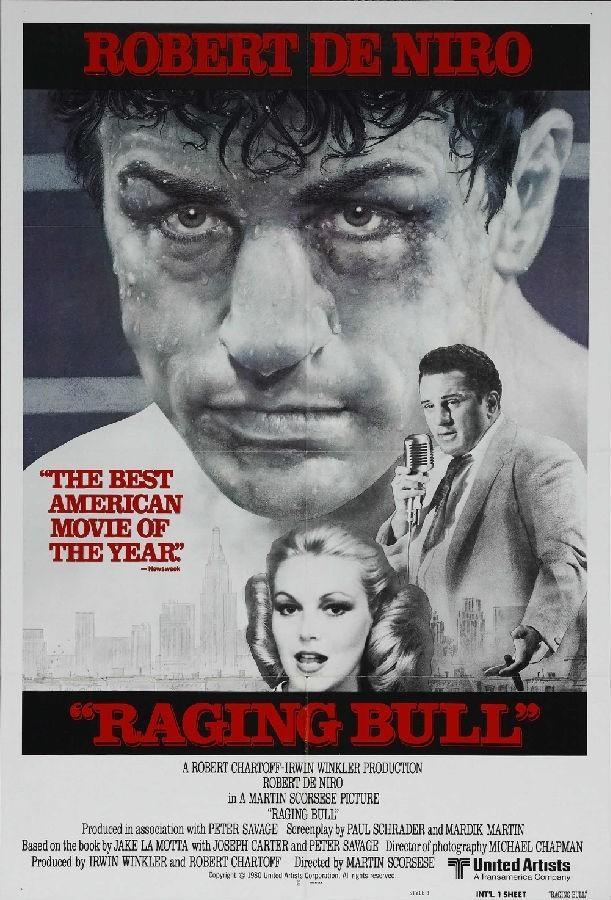 愤怒的公牛 电影海报