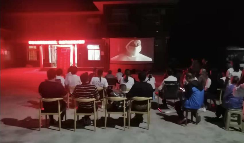 高县庆符镇:红色坝坝电影 传承红色基因