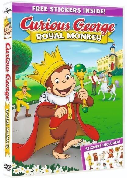 好奇的乔治:皇家猴子海报
