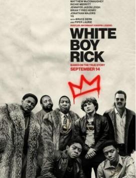 白人男孩瑞克海报