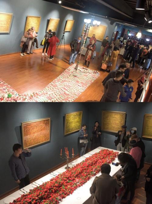 李琳瑛艺术展于北京上上·云艺术空间盛大开幕