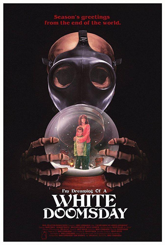 我梦见一个白色的世界末日海报