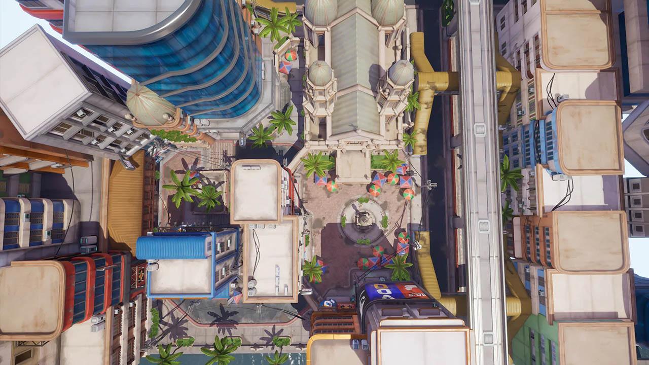 UE4项目文件 程式化游戏城市环境 Stylized City Environment Manila