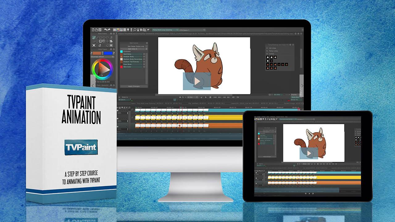 Bloop Animation - TVPaint Animation - TVPaint卡通动画教程