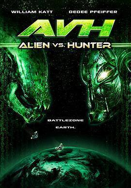 异形大战银河猎人 电影海报