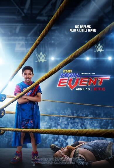 摔角小将/假面摔角手海报