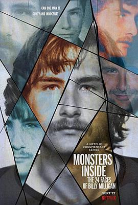 心中恶魔:比利·米利根的24副面孔海报