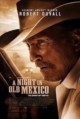 旧墨西哥一夜海报