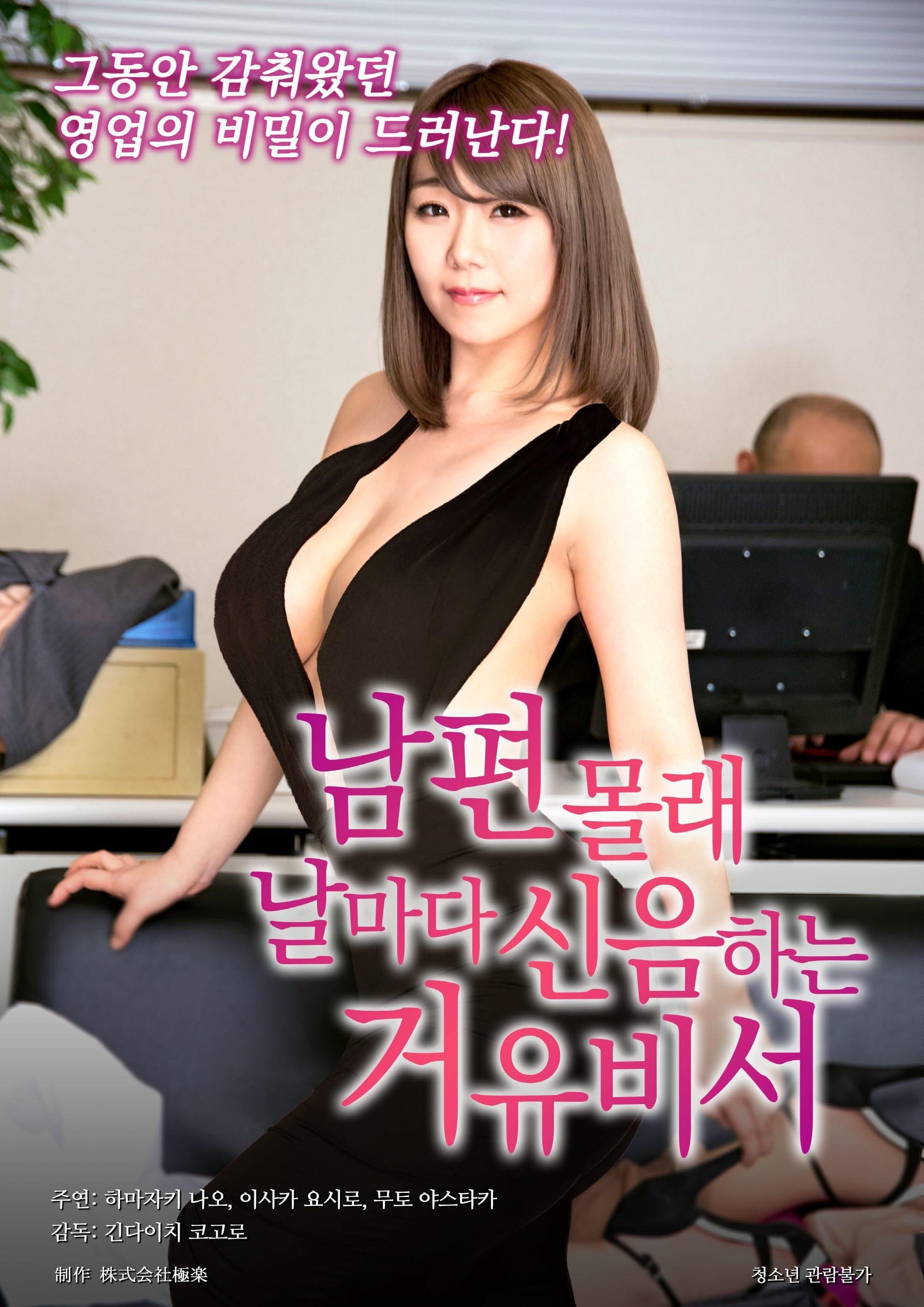 女秘书职位诱惑海报