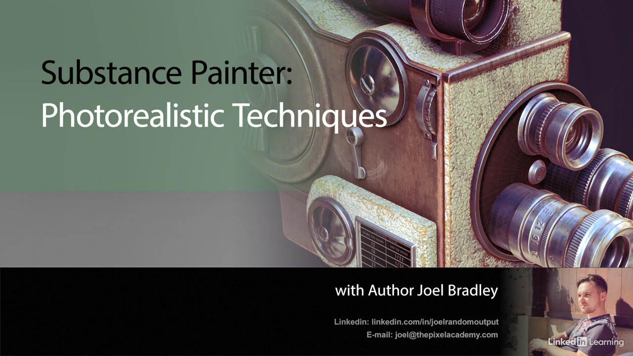 Substance Painter 照片级真实材质教程