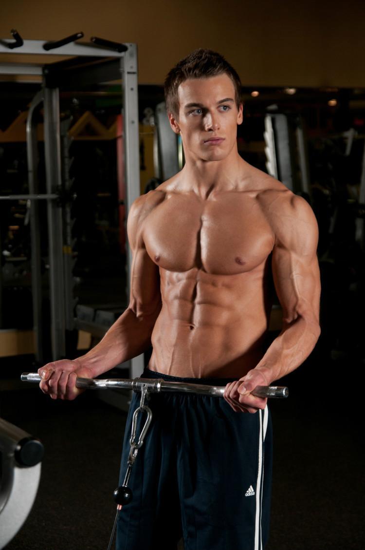 加拿大健身肌肉帅哥Marc Fitt 健身肌肉男模