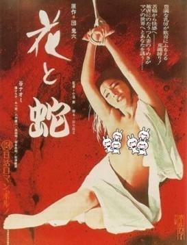 花与蛇 电影1974版本海报