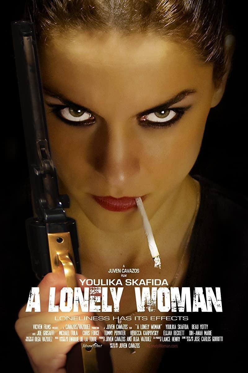 孤独的女人海报