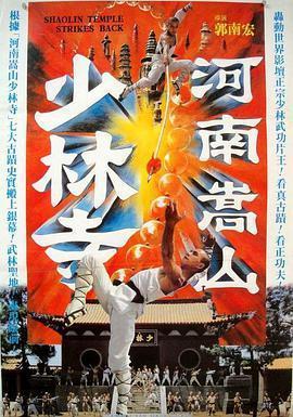 河南嵩山少林寺海报