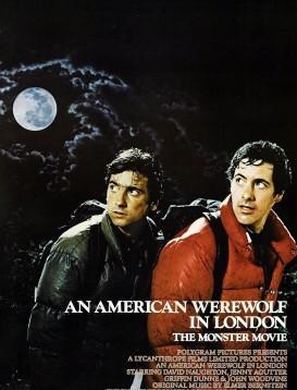 美国狼人在伦敦/鬼追人海报