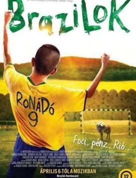 奔跑吧,巴西人海报