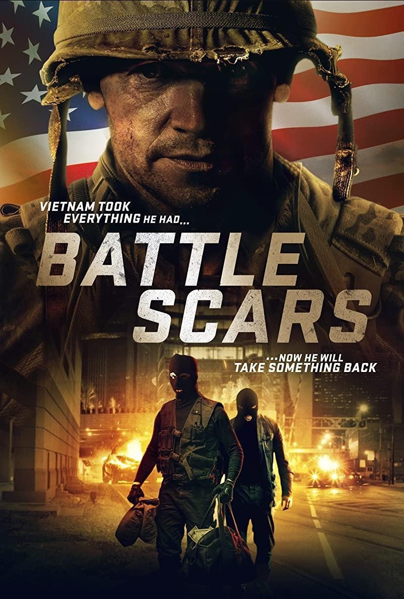 战争创伤海报
