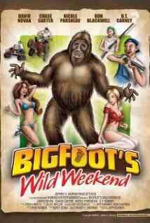 大脚怪的疯狂周末海报